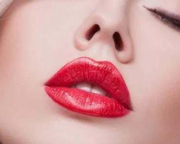 Макияж губ правильно