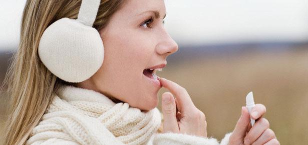 6 - Как защитить губы зимой