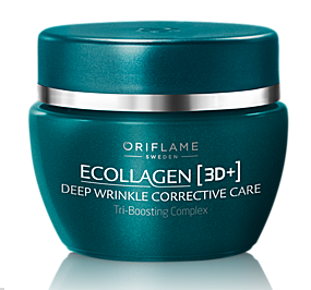 Ecollagen [3D+] Deep Wrinkle Corrective Care Oriflame