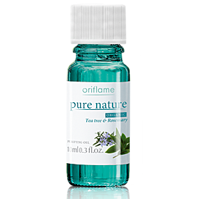 Pure Nature Organic Tea Tree & Rosemary Purifying Oil Oriflame
