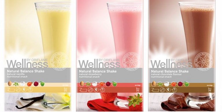 koktajli Wellness by Oriflame - Коктейли Wellness