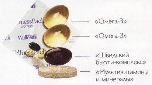 pack oriflame - Вэлнэс Пэк для женщин: витаминно-минеральный комплекс