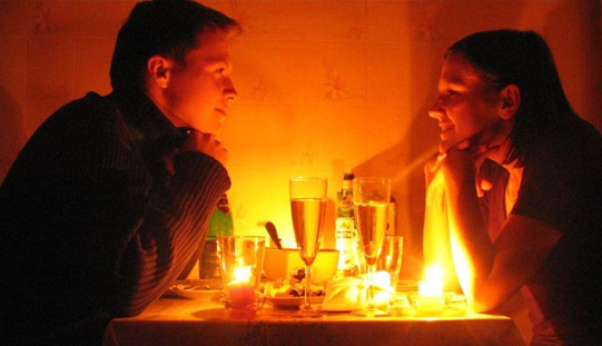 romanticheski uzin - Романтический ужин дома