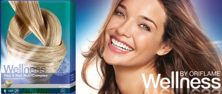 NutricomplexWellness Oriflame - Нутрикомплекс Wellness для ногтей и волос by Oriflame