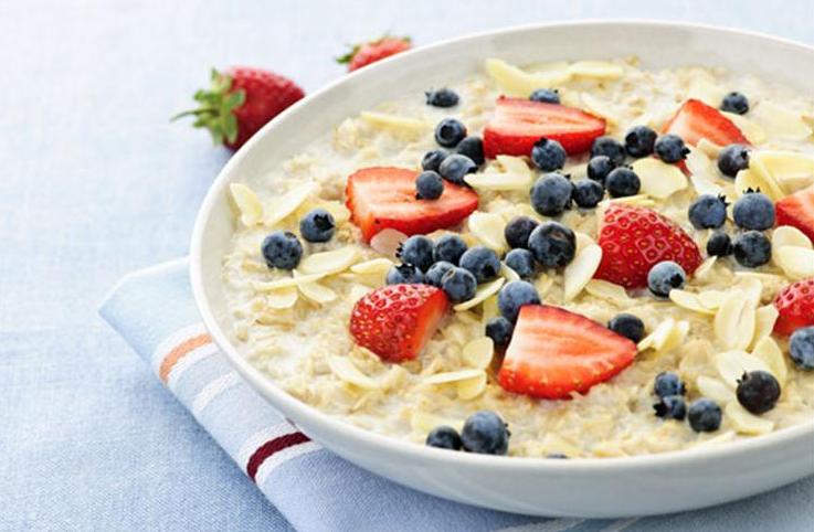 Правильное питание для похудения -завтрак