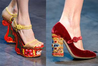 trendi obuv3 - Тренды обуви 2014 года