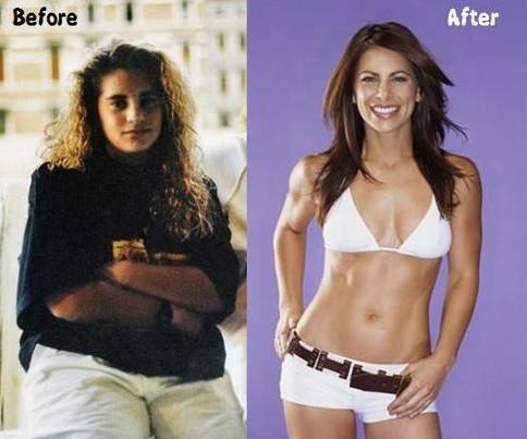 фотографии похудевших людей до и после