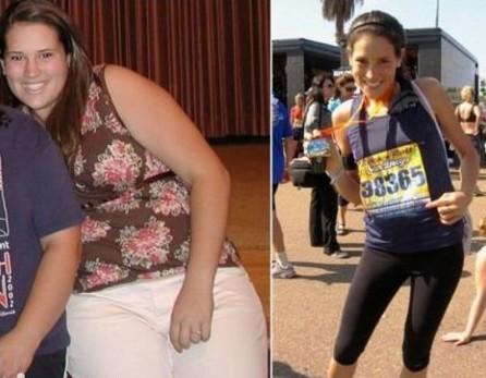 Люди похудевшие до и после фото