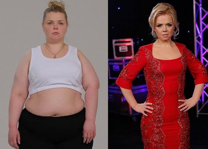 Люди похудевшие