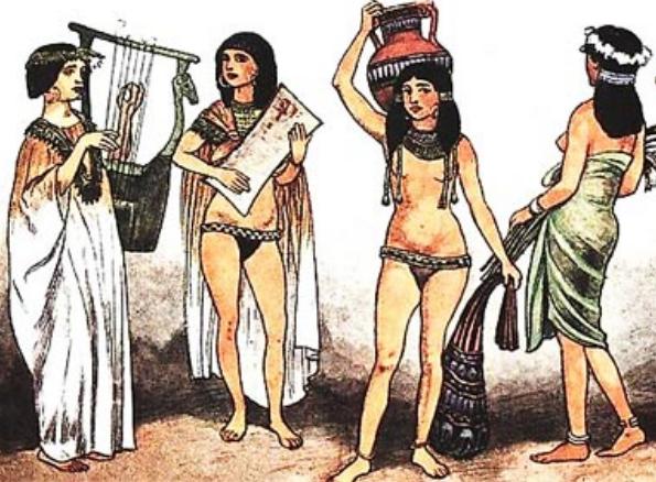 belie - Нижнее белье в античности