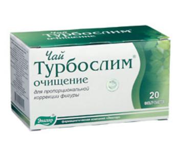 Чай «Турбослим» для похудения: инструкция и применение
