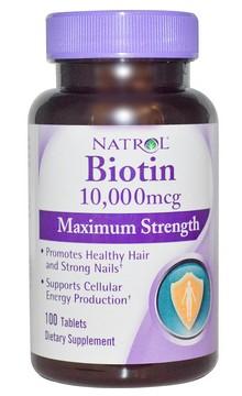 biotin natrol zakaz