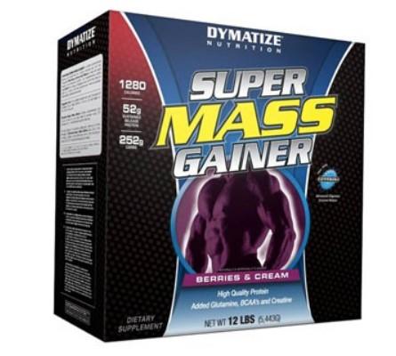 состав Super Mass Гейнера от компании Dymatize Nutrition