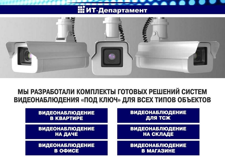 it departament5 - Системы видеонаблюдения в Балаково: монтаж и обслуживание
