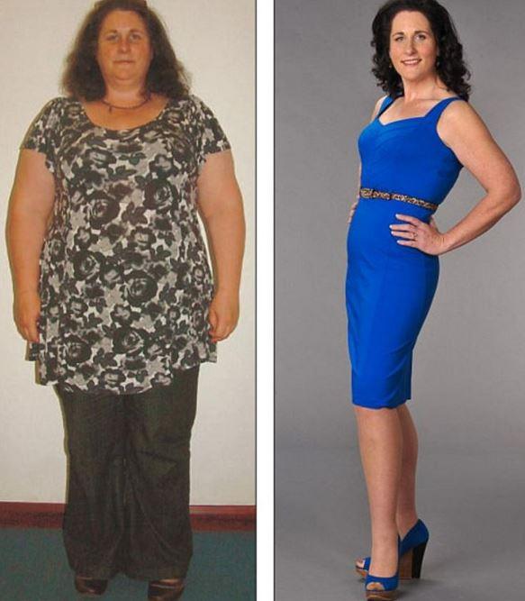 Похудевшие женщины фото до и после