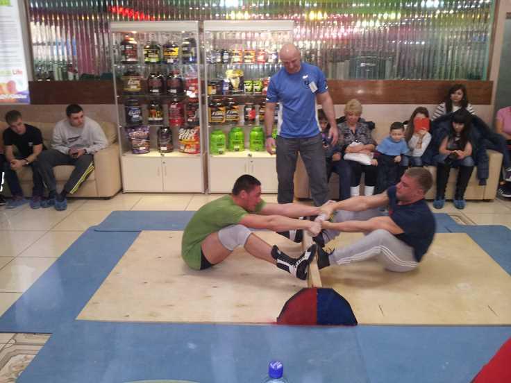 Соревнования по Якутской Палочке в Балаково