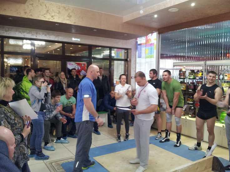 Соревнования по Мас-рестлингу в Балаково Награждение