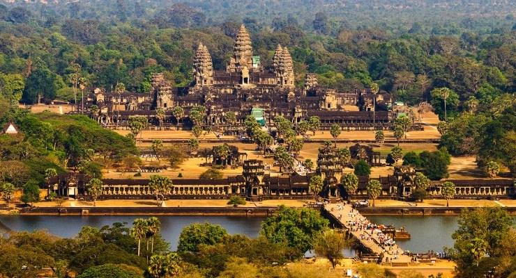 Пром Ангкор Ват - Камбоджа: Ангкор Ват