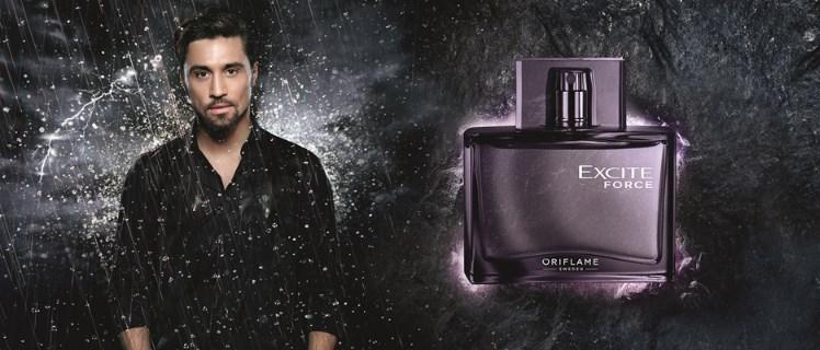 Bilan Exit Force - Дима Билан представил новый мужской аромат от Орифлейм Excite Force