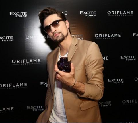 Exit Forse Bilan - Дима Билан представил новый мужской аромат от Орифлейм Excite Force