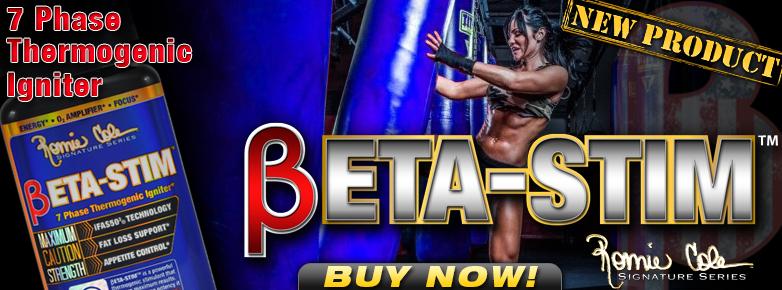 Beta-Stim жиросжигатель от Ronnie Coleman
