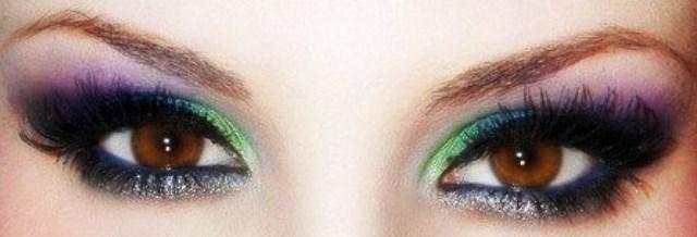Торжественный макияж: глаза и брови