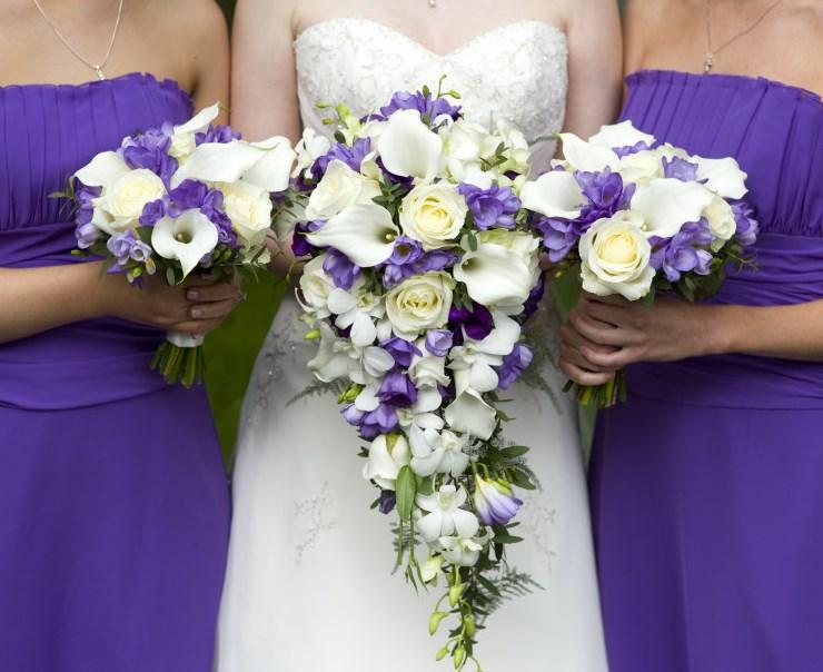 Buket Nevesti Frezii - Свадебный букет из фрезий: нежный выбор на свадьбу