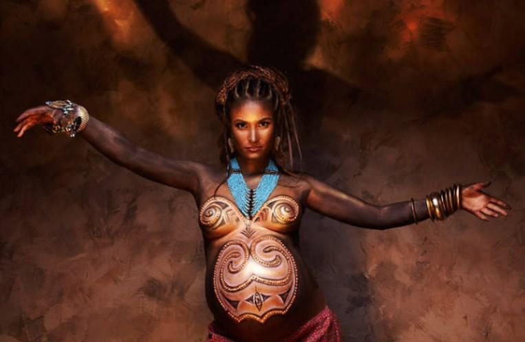 bodyart beremennih - Секреты удачной фотосессии для беременных