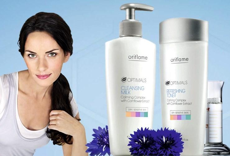 """Optimals Cleaning - Отзыв на Молочко для лица 2-в-1 """"Optimals"""" от Орифлейм"""