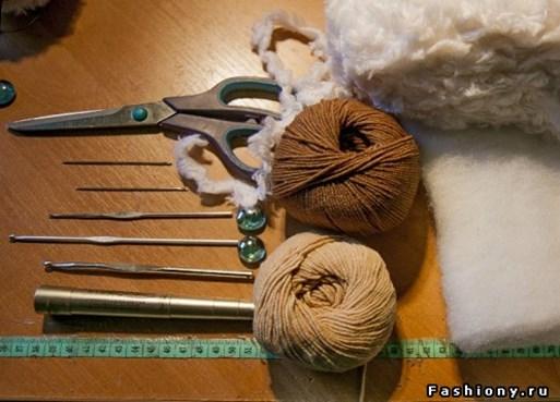 Ovechka - Как сделать новогоднюю овечку своими руками