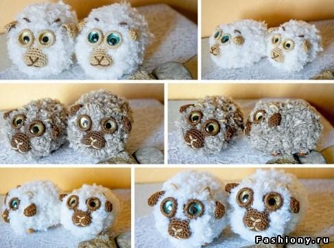 Ovechka11 - Как сделать новогоднюю овечку своими руками