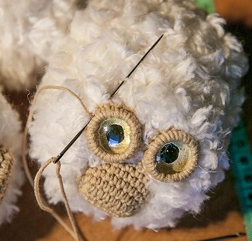 Ovechka6 - Как сделать новогоднюю овечку своими руками