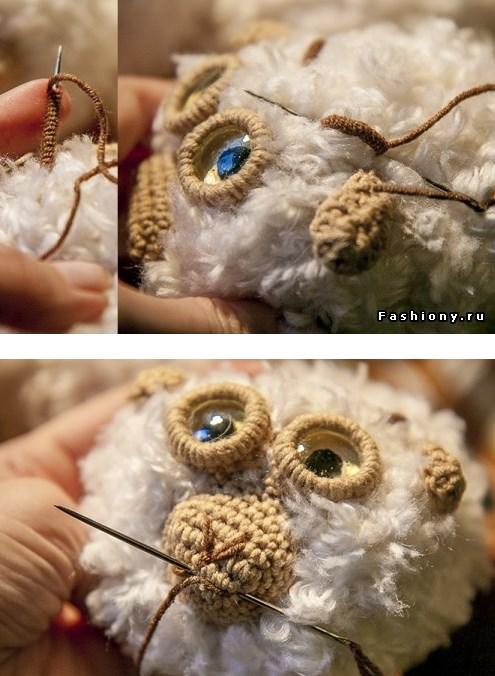 Ovechka9 - Как сделать новогоднюю овечку своими руками