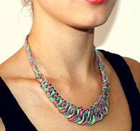 Необычный подарок – самодельное ожерелье