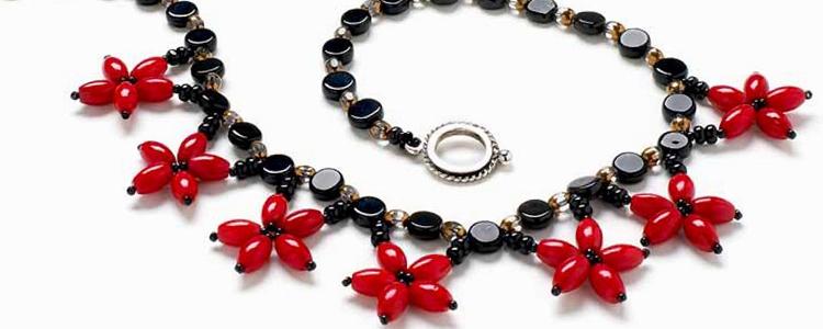 samodelnoe ozherele2 - Необычный подарок – самодельное ожерелье