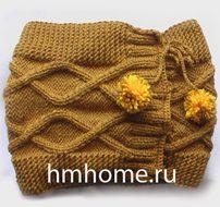 Зимняя шапка, которая не скрывает, а подчеркивает красоту