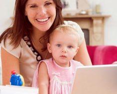 Удалённая работа для мам, или не зарываем таланты в памперсы