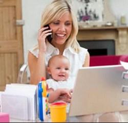 Бизнес в декрете: как зарабатывать дома