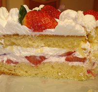 Газированный пирог