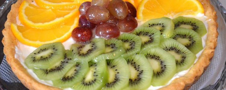 pesochnyj pirog s fruktami2 - Песочный пирог с фруктовой начинкой