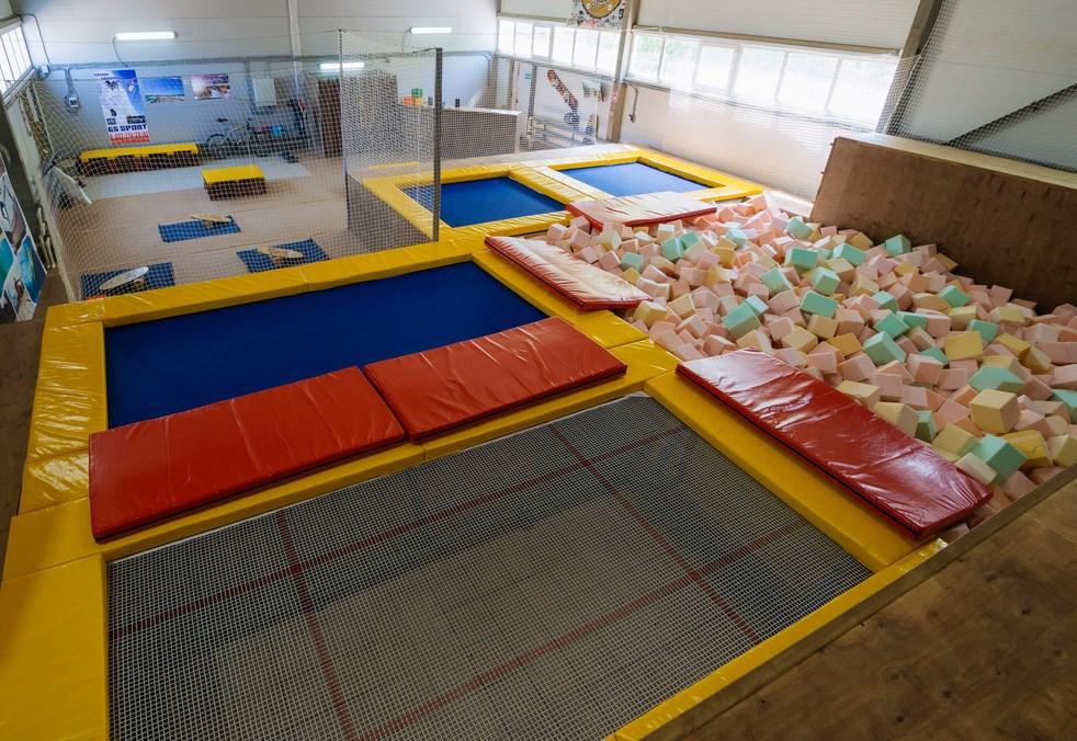 Gravity hall Батутный Центр