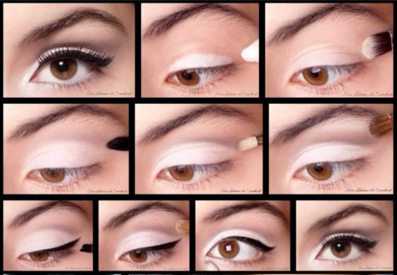 Makiyaz karih glaz 3 - Макияж для карих глаз - как сделать: варианты