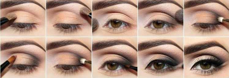 Makiyaz karih glaz - Макияж для карих глаз - как сделать: варианты