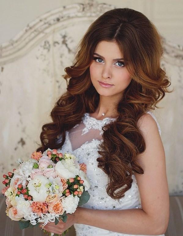Svadebnaya Pricheska 4 - Свадебные прически: модные тренды