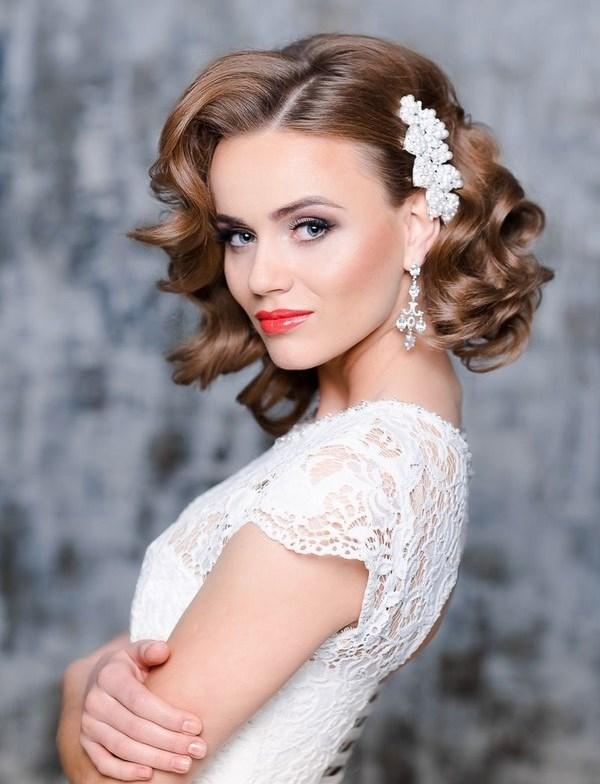 Svadebnaya Pricheska 6 - Свадебные прически: модные тренды