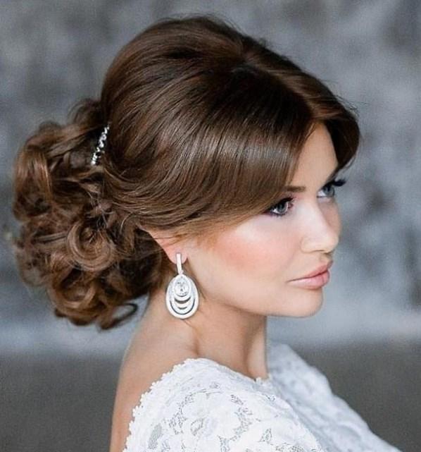 Svadebnaya Pricheska 7 - Свадебные прически: модные тренды