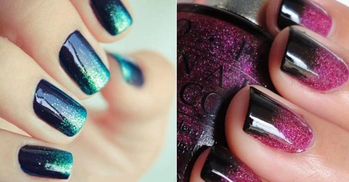 ombre 3 - Как аккуратно накрасить ногти двумя цветами