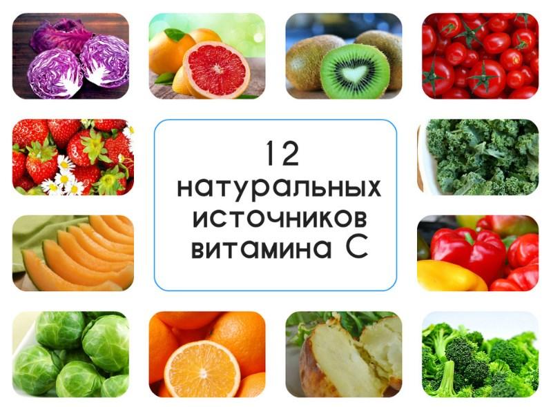 Vitamini C - Витамин C - польза для организма