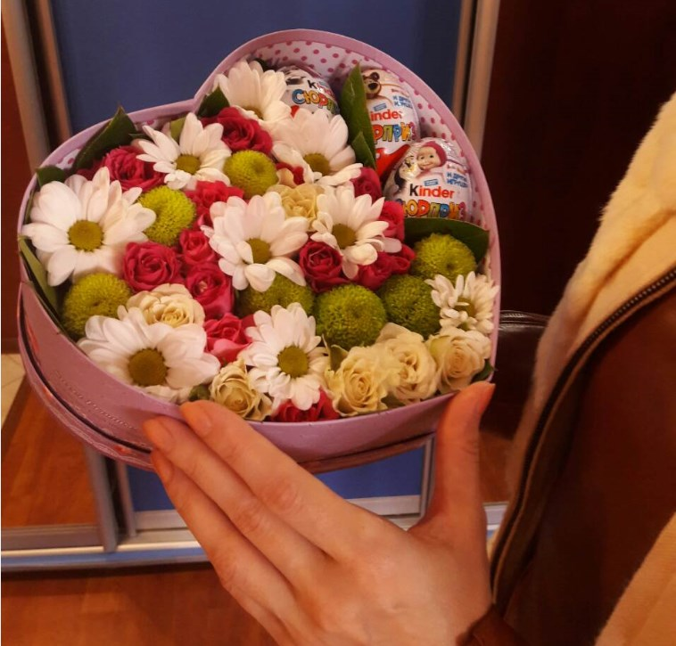 Balakovo Cveti korobka - Цветы Балаково: доставка цветов в Балаково