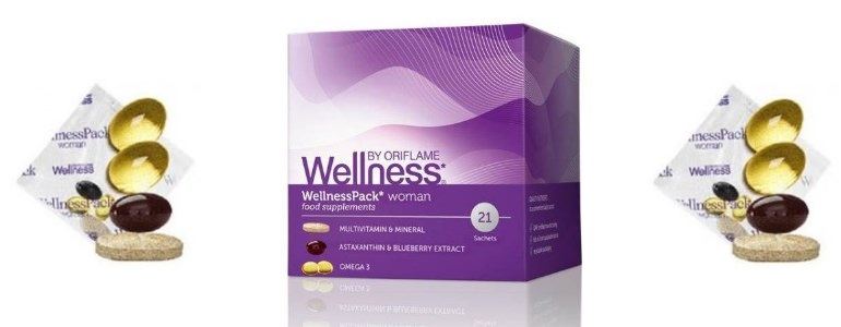 Wellness Pack Oriflame - Велнес Орифлейм - Wellness Pack для женщин